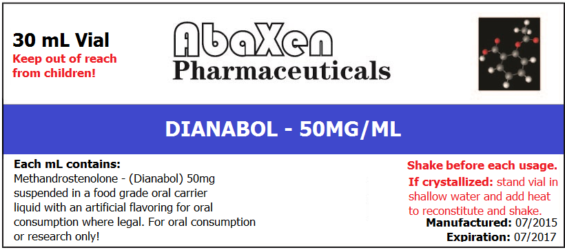 Dianabol 50mg/ml