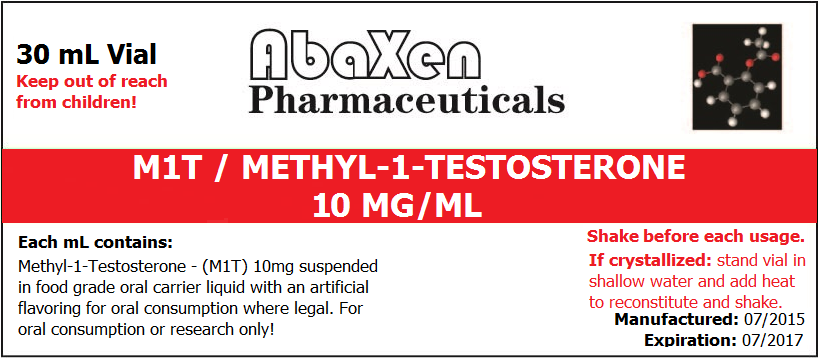 M1T - Methyl-1-Testosterone 10mg/ml