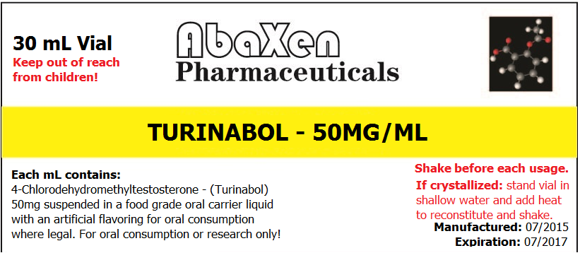 Turinabol 50mg/ml