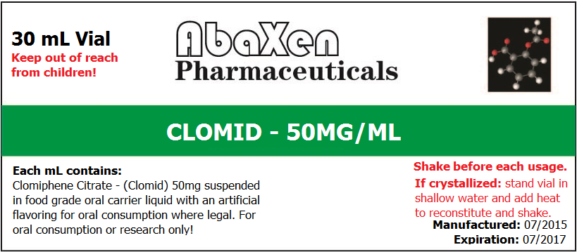 Clomid 50mg/ml