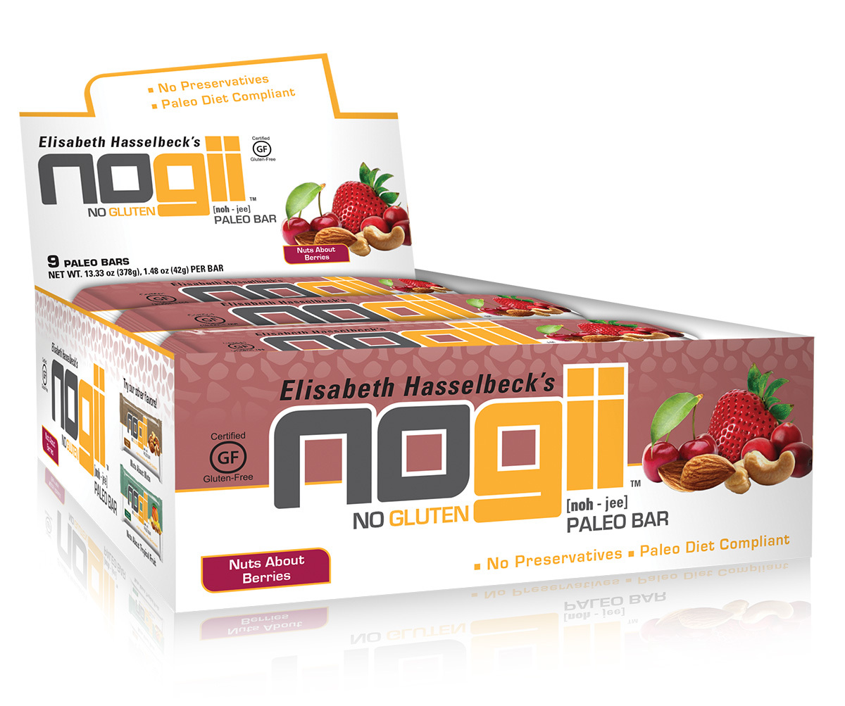 Paleo Bar Nuts About Berries