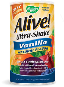 Alive! Ultra-Shake Soy Protein