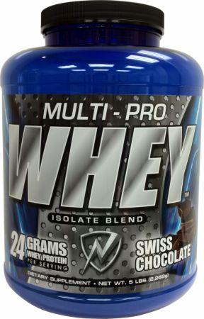 Multi Pro Whey Isolate Swiss Chocolate