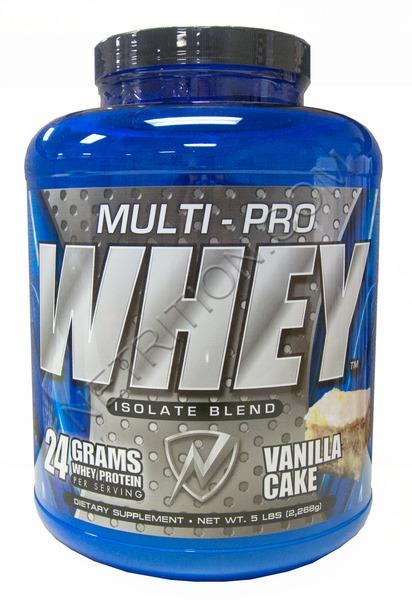 Multi Pro Whey Isolate Vanilla Cake