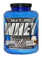 Multi Pro Whey Isolate Vanilla Cinnamon