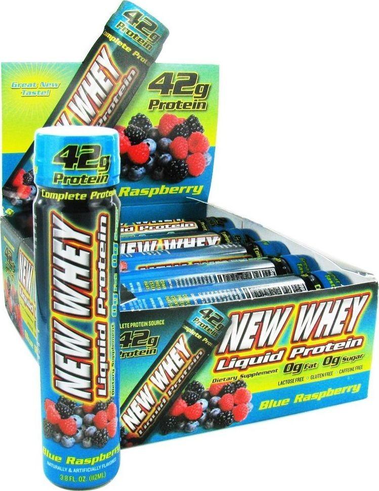 New Whey Liquid Protein Blue Raspberry