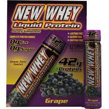 New Whey Liquid Protein Grape