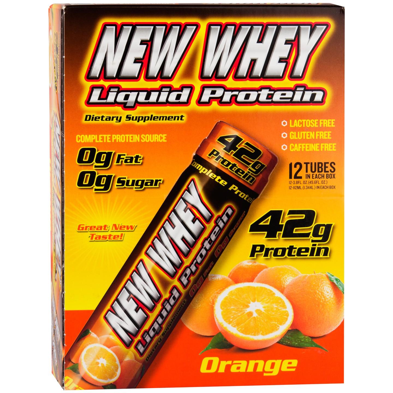 New Whey Liquid Protein Orange