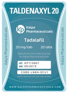 Taldenaxyl 20