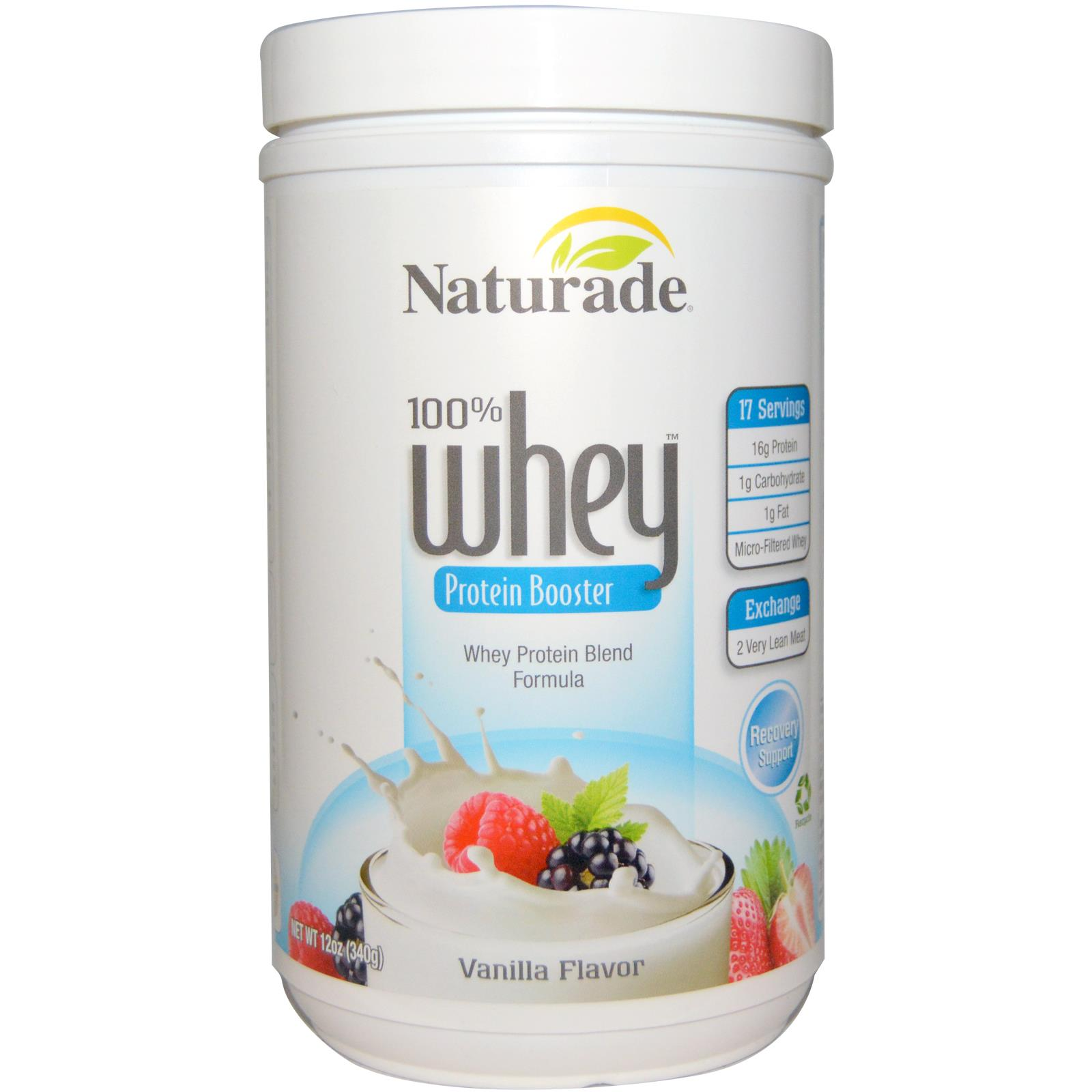 100% Whey Protein Booster Vanilla